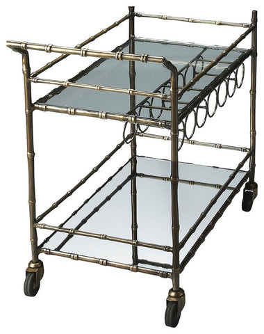Butler Bar Cart - Bar Wheels Serving Carts