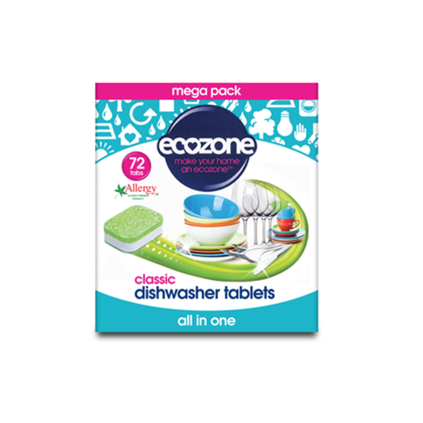 Eco Dishwasher Tablets Classic 72