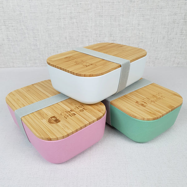 Eco Bamboo & Wheat Fibre Lunch / Bento Box