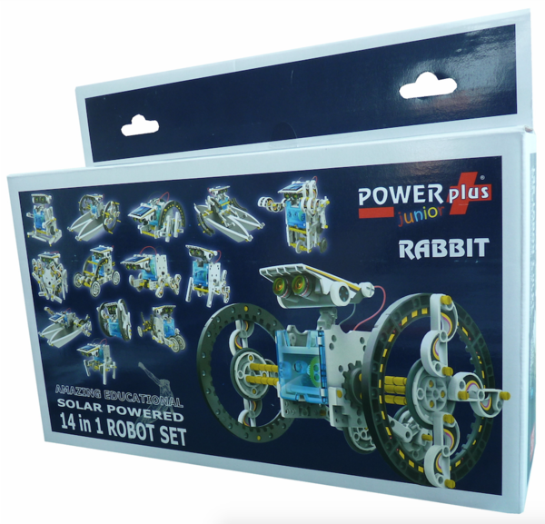 Rabbit - 14-in-1 Eco Toy Set