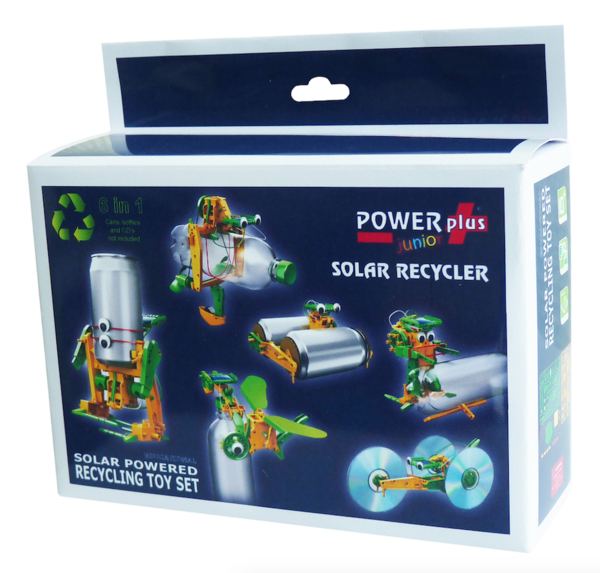 Solar Recycler Model Toy Kit
