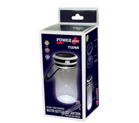 Tuna - Water Bottle & Solar LED Lantern