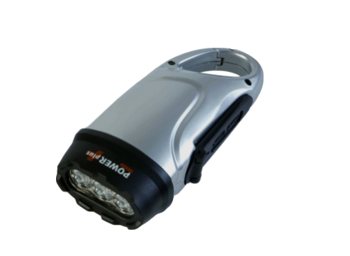 Dolphin - Wind-up LED Torch