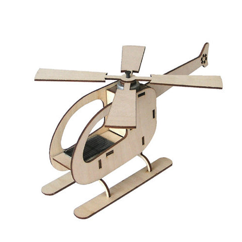 Solar Powered Helicopter Kit Toy