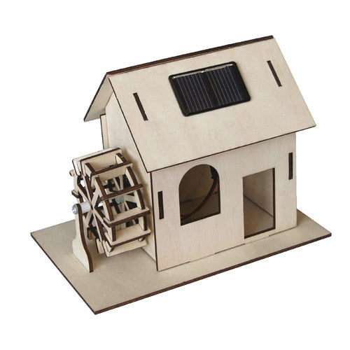 Watermill Kit - Solar Model Toy