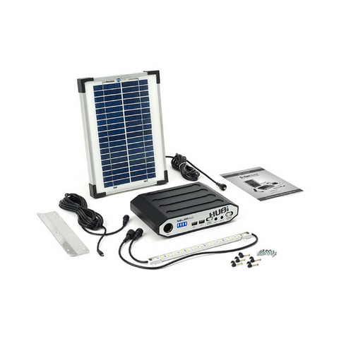 Solar Hub 16 Lighting and Power System