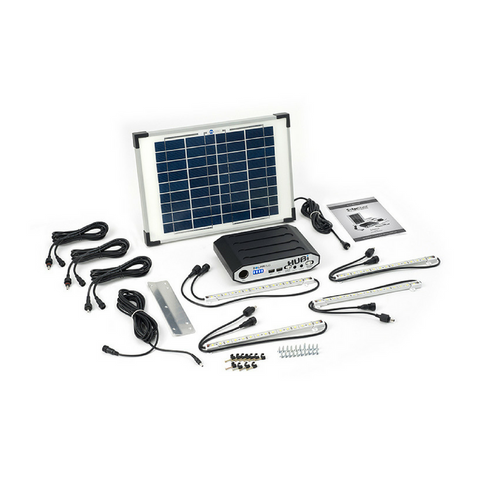 Solar Hub 64 Lighting and Power System