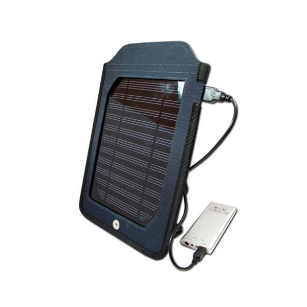 Cobra - Slim Solar Charger & Power Bank