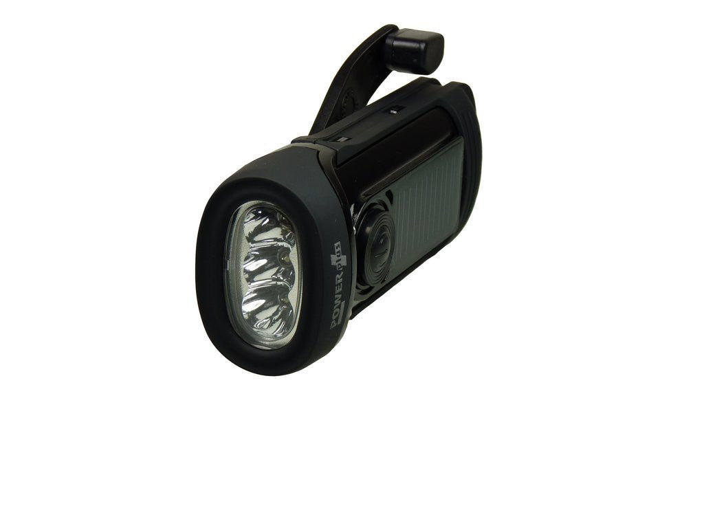 Barracuda - Solar & Wind-up LED Torch