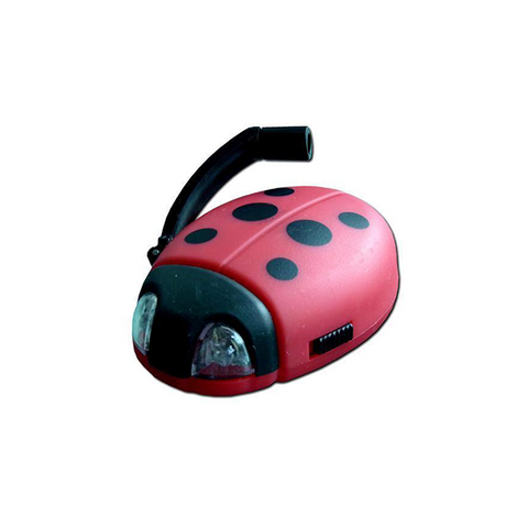 Ladybug - Dynamo Pocket LED Torch
