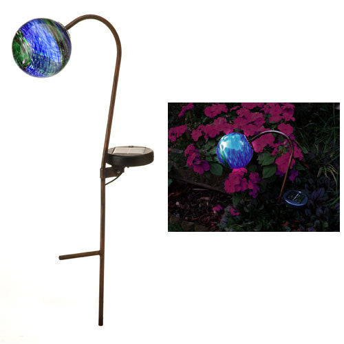 Solar Garden Light - Beautiful Midnight Globe Effect