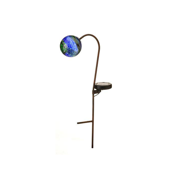 Murano Solar Globe Light - Midnight