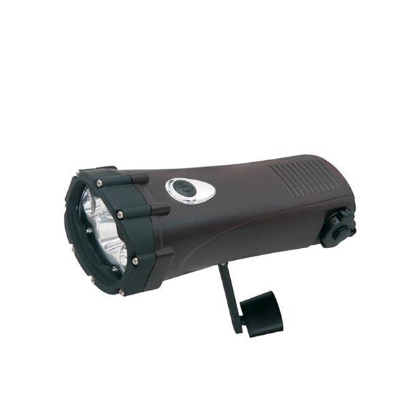Shark - Dynamo Waterproof LED Flashlight & Power Bank