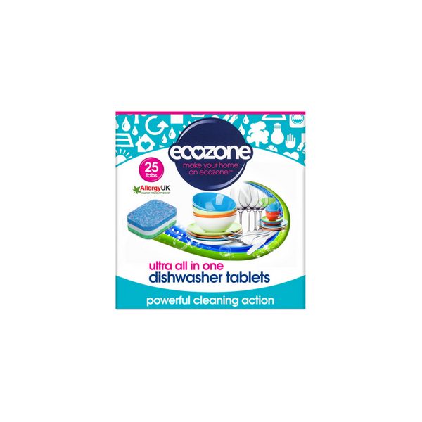 All in One Dishwasher tablets - Ultra 25