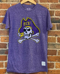 ECU Retro Brand Tri Blend T Shirt