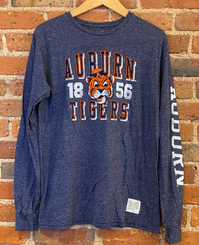 Auburn Tigers Retro Brand Long Sleeve Shirt
