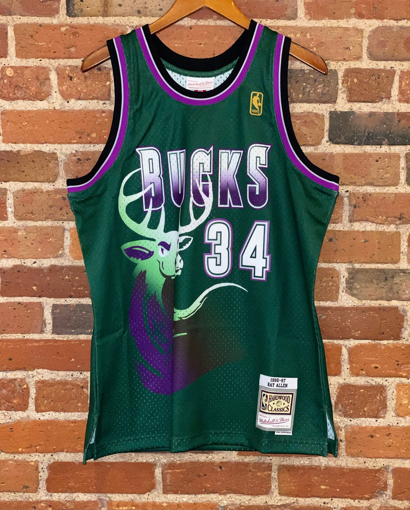 NBA Swingman Ray Allen Mitchell & Ness Jersey