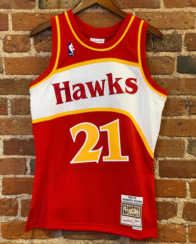 NBA Swingman Dominique Wilkins Mitchell & Ness Jersey