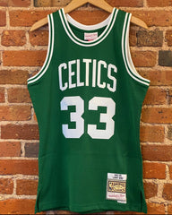 NBA Swingman Larry Bird Mitchell & Ness Jersey
