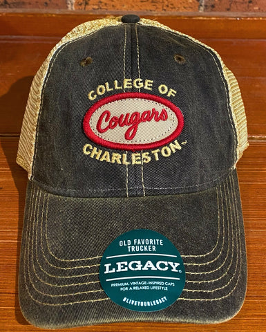 College of Charleston Legacy Trucker Hat
