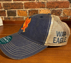 Auburn War Eagle Legacy Trucker Hat