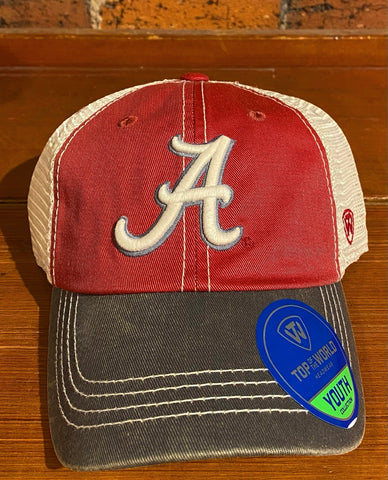 Youth Alabama Top of World Hat