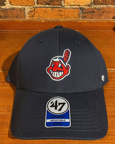 Youth Cleveland Indians 47 Brand Hat