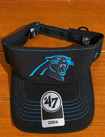 Carolina Panthers 47 Brand Visor