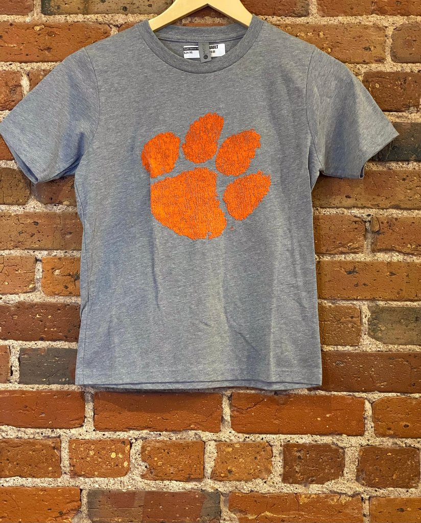 Youth Clemson Paw T Shirt