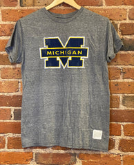 Michigan Wolverines Retro Brand T Shirt