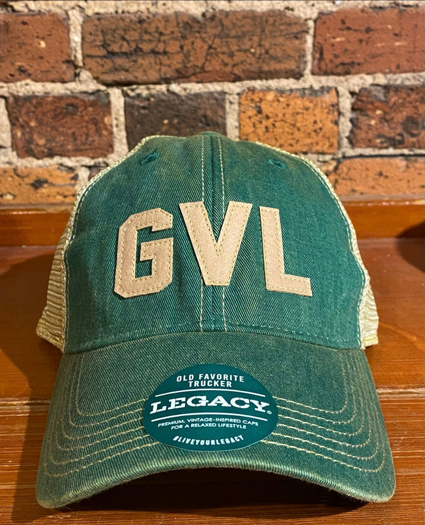 Greenville GVL Legacy Old Favorite Trucker Hat