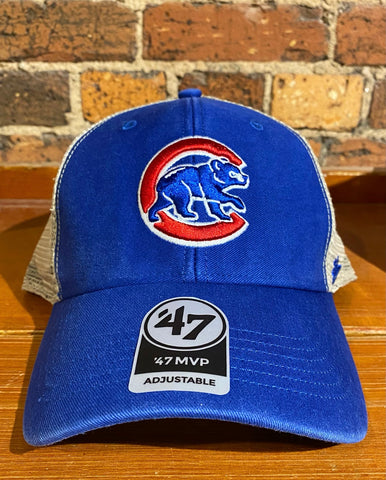 Chicago Cubs 47 Brand Mesh Trawler Hat