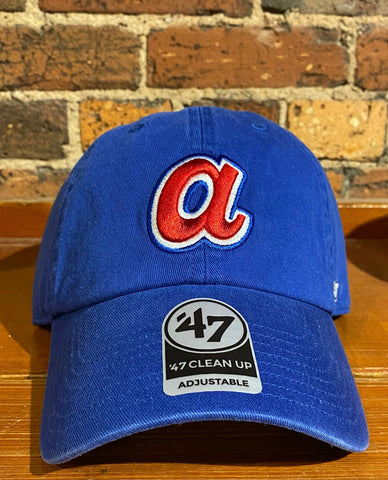 Atlanta Braves '47 Brand Clean Up Hat