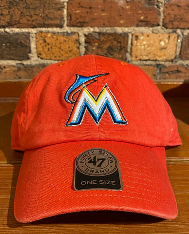 Miami Marlins '47 Brand Basic Clean Up Hat