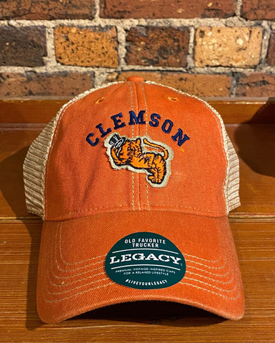 Clemson Gentleman Legacy Old Favorite Trucker Hat