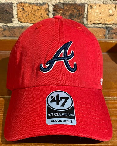 Atlanta Braves Clean Up hat