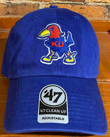 Kansas Jayhawks 47 Brand Clean Up