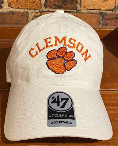 Clemson Tigers 47 Brand Clean Up Hat