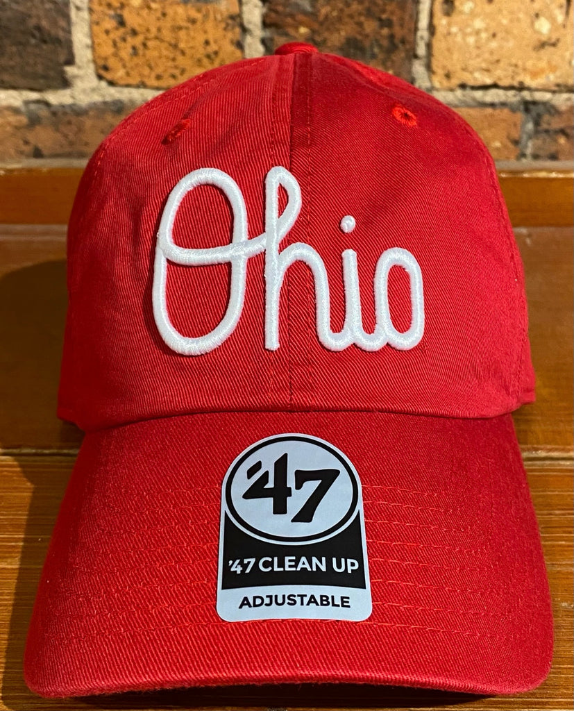 Ohio State 47 Brand Clean Up Hat