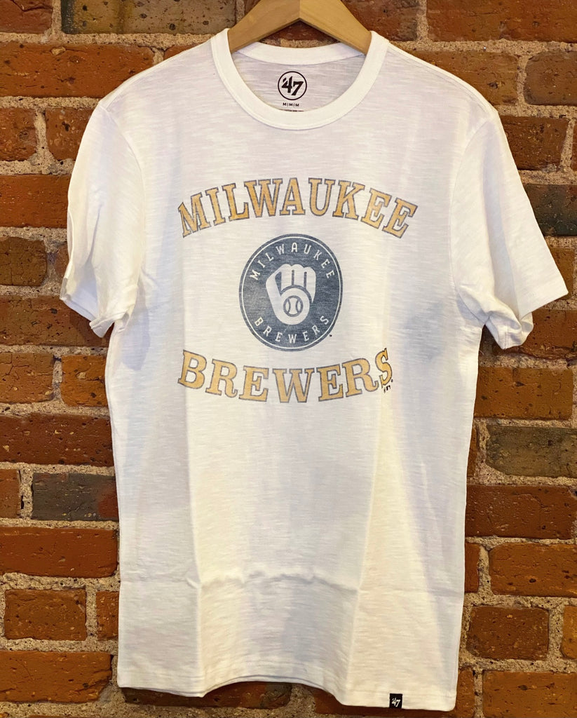 Milwaukee Brewers 47 Brand Scrum Tee