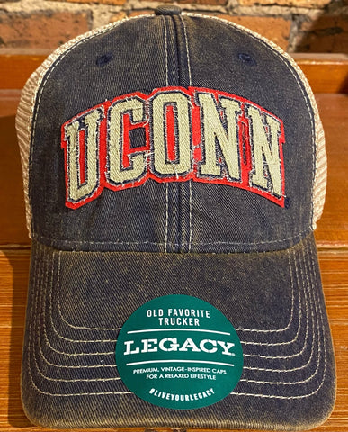 UCONN Old Favorite Trucker Hat