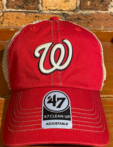Washington Nationals 47 Brand Mesh Hat