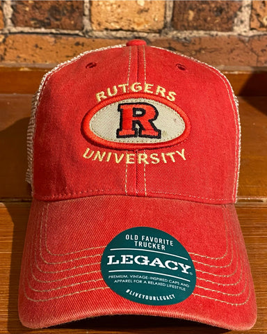 Rutgers University Legacy OFA Trucker Hat