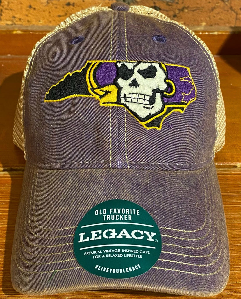 East Carolina Pirates Legacy Old Favorite Trucker Hat