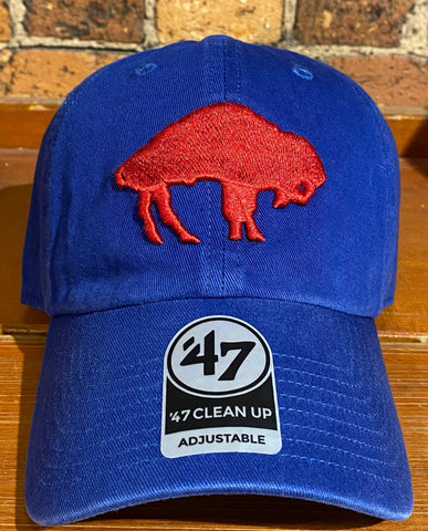 Buffalo Bills 47 Brand Clean Up Hat