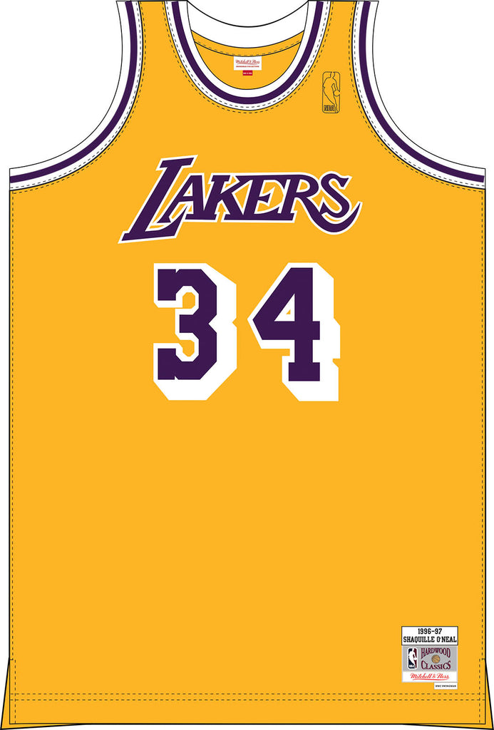 SHAQUILLE O'NEAL 1996-1997 Los Angeles Lakers