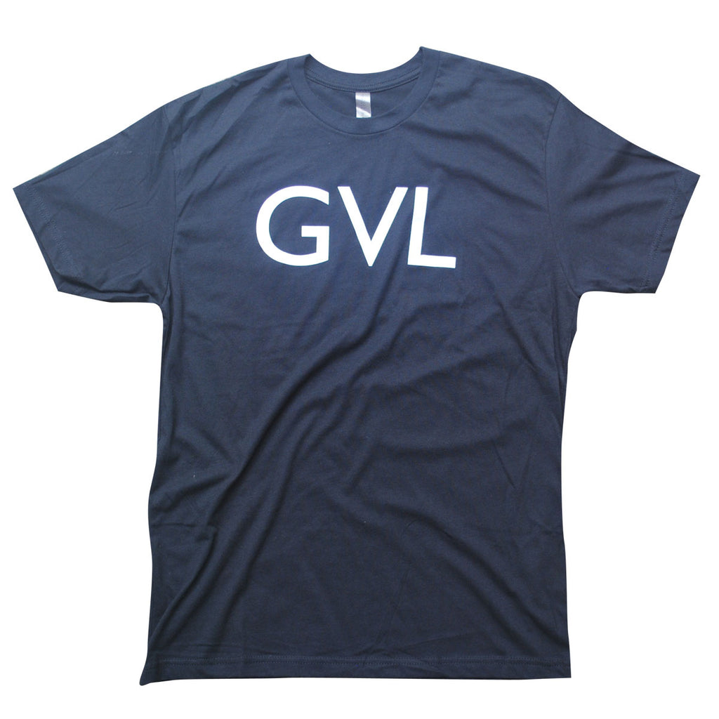 "GVL ""Greenville"" Black T-shirt"