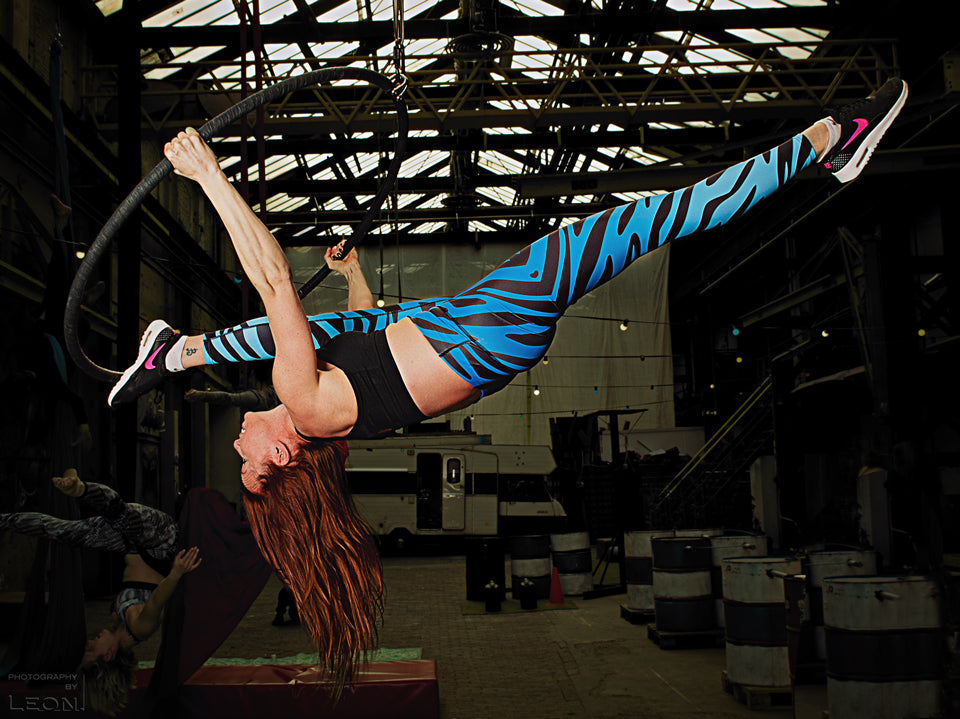 The best idea for a girlfriend's weekend, bachelor party or team outing: a workshop Aerial Hoop!