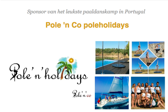 Beste pole-dance camp in Portugal; Pole ' N Urlaub!