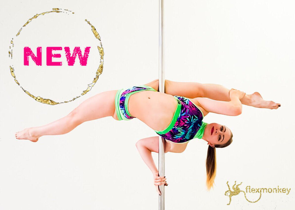 Velvet Butterfly polewear by Flexmonkey - designed in Amsterdam